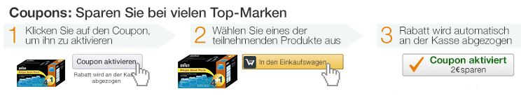 NEU: Mit Amazon Coupons sparen