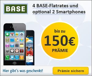BASE Schnäppchen mit Smartphone April 2012