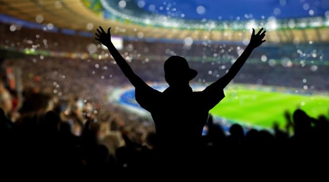 Die Fußball-Weltmeisterschaft in Brasilien mit Freunden tippen