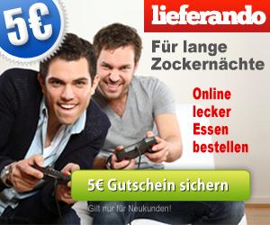 Lieferando 5 Euro Gutschein